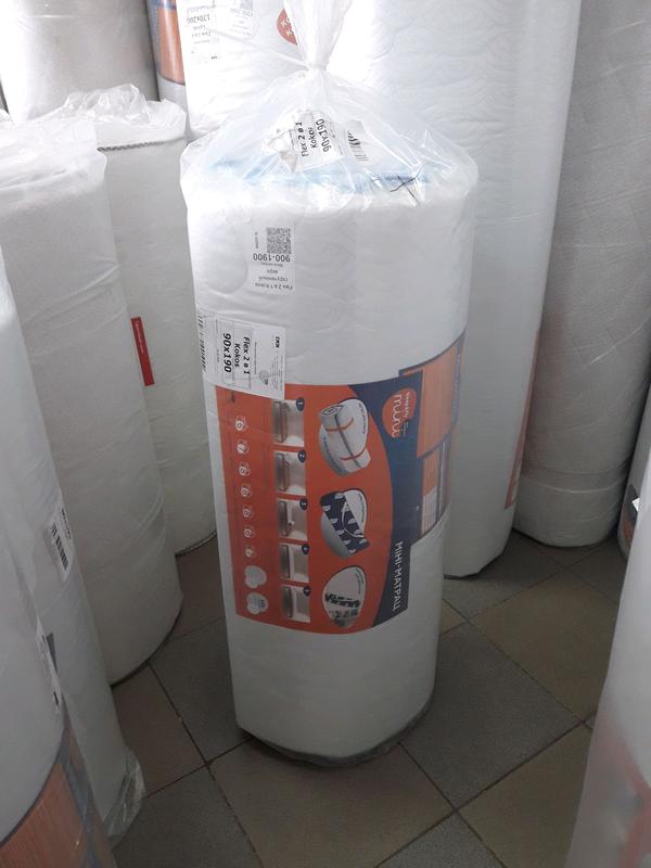 90х190 тонкий матрас на диван Sleep&Fly Flex 2в1 kokos - Фото 3