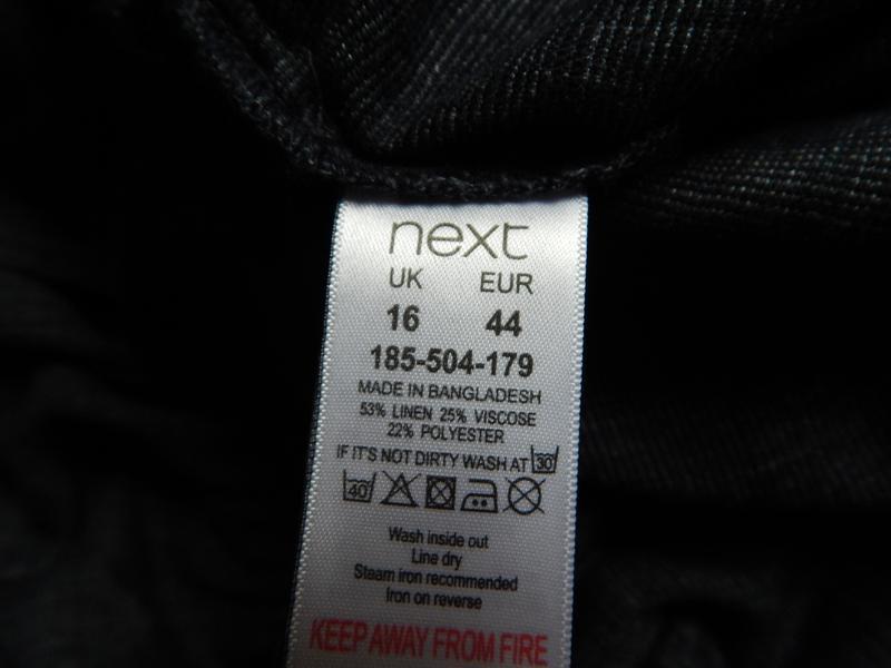 🌿шикарное льняное платье миди с вышивкой от next. размер 2xl (... - Фото 3