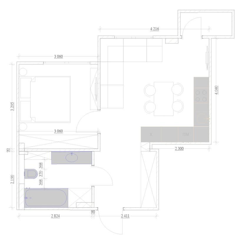 Предварительные планировки при покупке квартиры