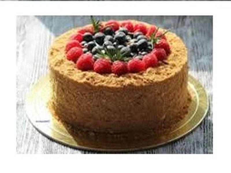 Торт Медовик с творожным кремом