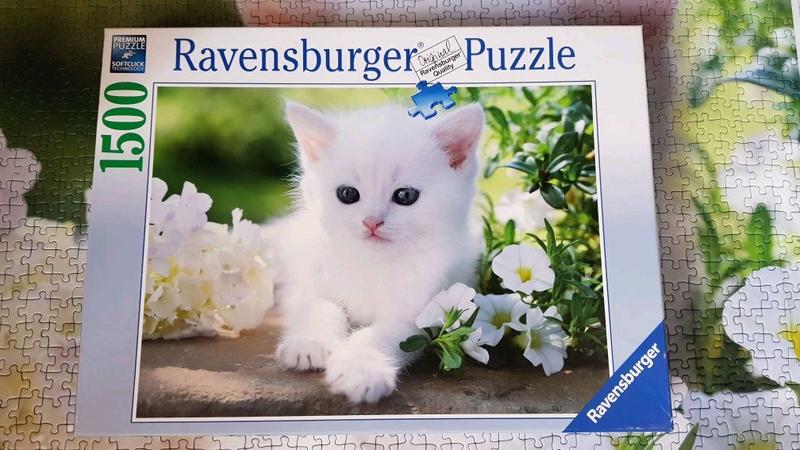 Пазлы Ravensburger puzzle