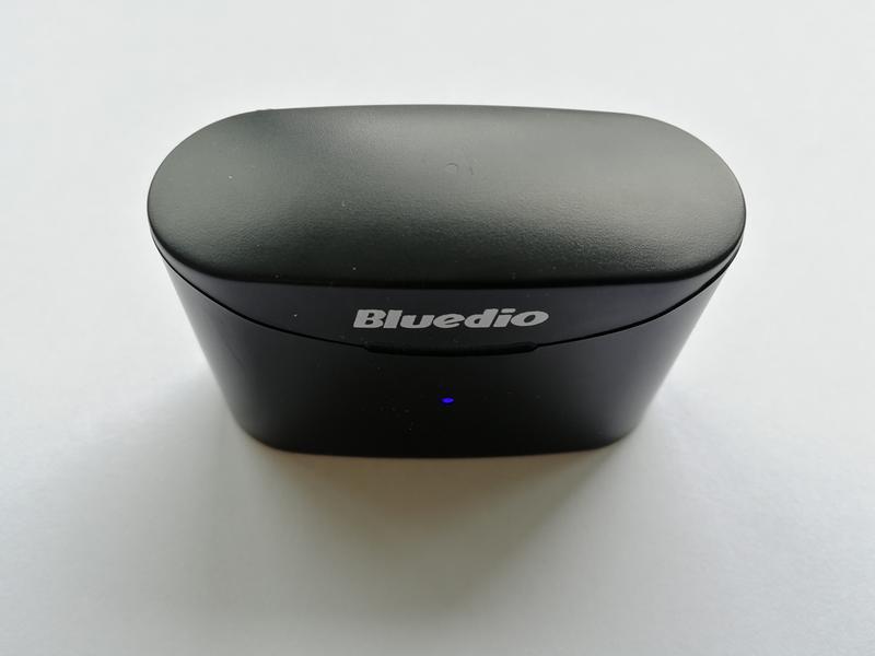 Беспроводные Bluetooth наушники Bluedio T Elf 2 с зарядным боксом - Фото 8