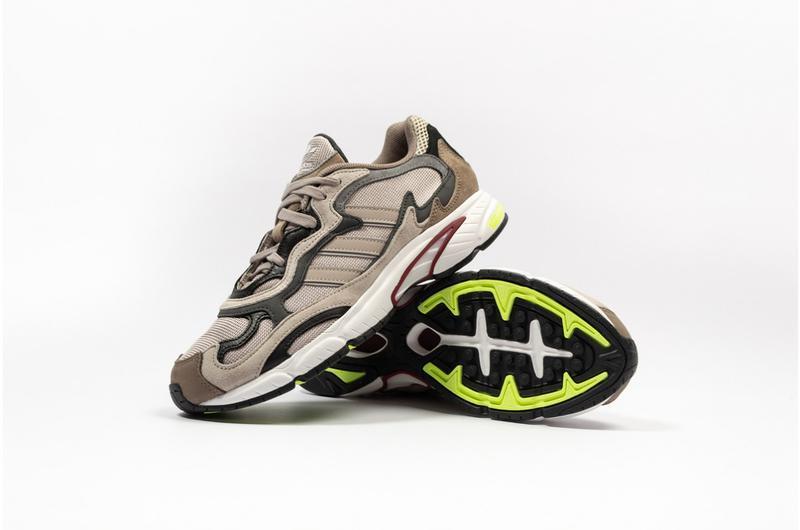 Обувь кроссовки adidas temper run brown adi prene