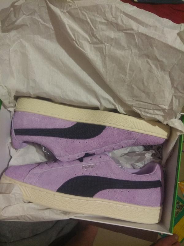 Puma suede diamond замша кожа кеды кроссовки обувь