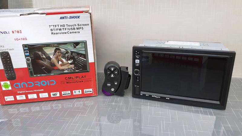 Автомагнитола 2DIN Android / GPS/Bluetooth/пульт на руль - Фото 7