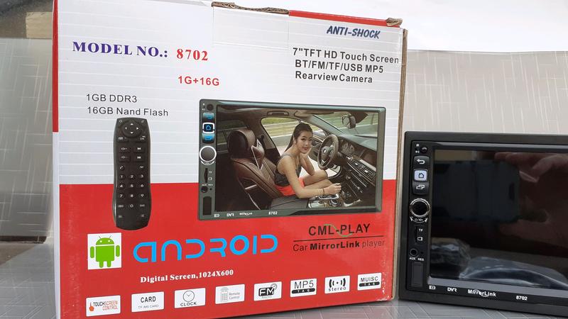 Автомагнитола 2DIN Android / GPS/Bluetooth/пульт на руль - Фото 3