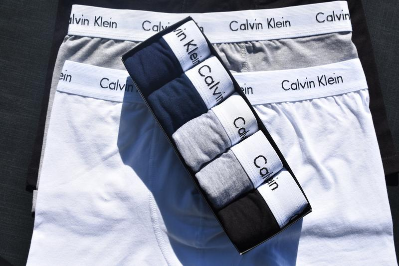 Мужские трусы Calvin Klein в упаковке 5 шт. .Боксеры
