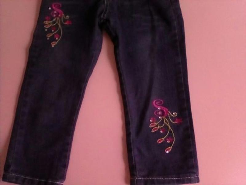 НОВЫЕ детские стрейчевые джинсы на девочку