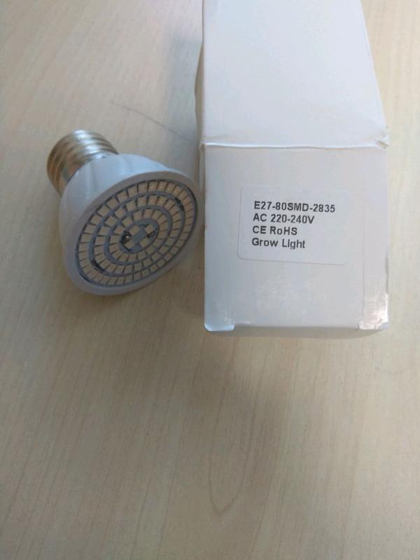 Фитолампа для растений 48/80 светодиодов Е27