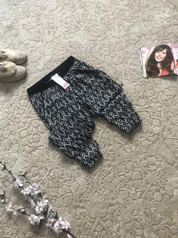 Лёгкие брюки на резинке оригинал h&m