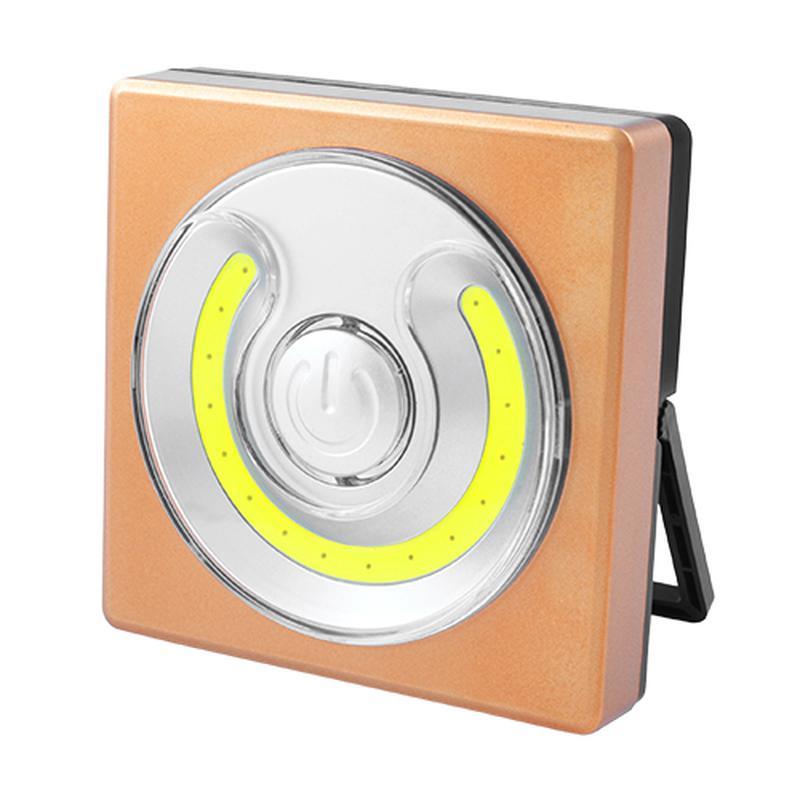 Фонарь кемпинг WH001-COB, магнит, настольная подставка