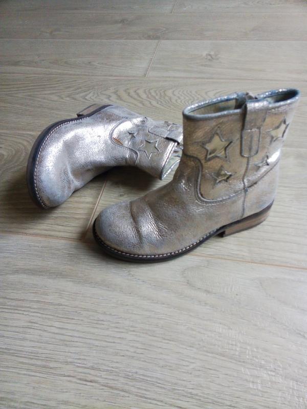Демисезонные ботинки для девочки.Кожа - Фото 2