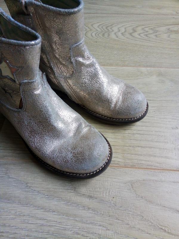 Демисезонные ботинки для девочки.Кожа - Фото 3