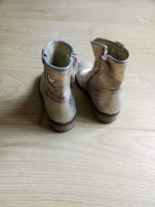 Демисезонные ботинки для девочки.Кожа - Фото 4