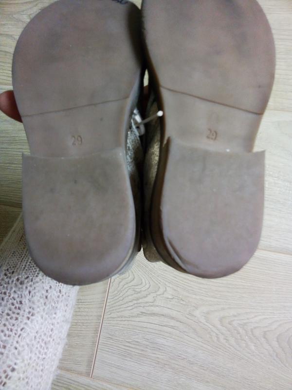 Демисезонные ботинки для девочки.Кожа - Фото 5