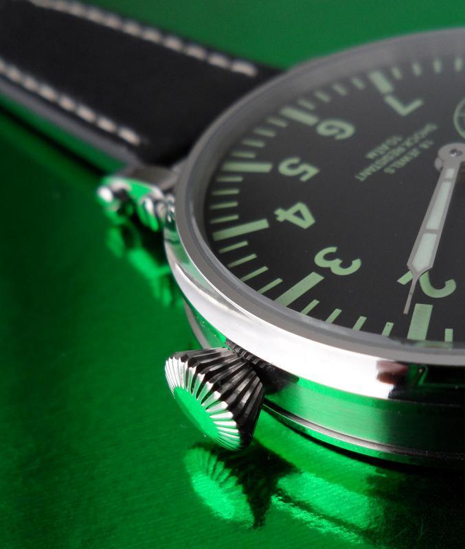 «AVIATOR _Молния» БОЛЬШИЕ часы мех. 50-х. СОВРЕМЕННЫЙ дизайн - Фото 6