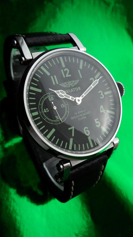 «AVIATOR _Молния» БОЛЬШИЕ часы мех. 50-х. СОВРЕМЕННЫЙ дизайн - Фото 11