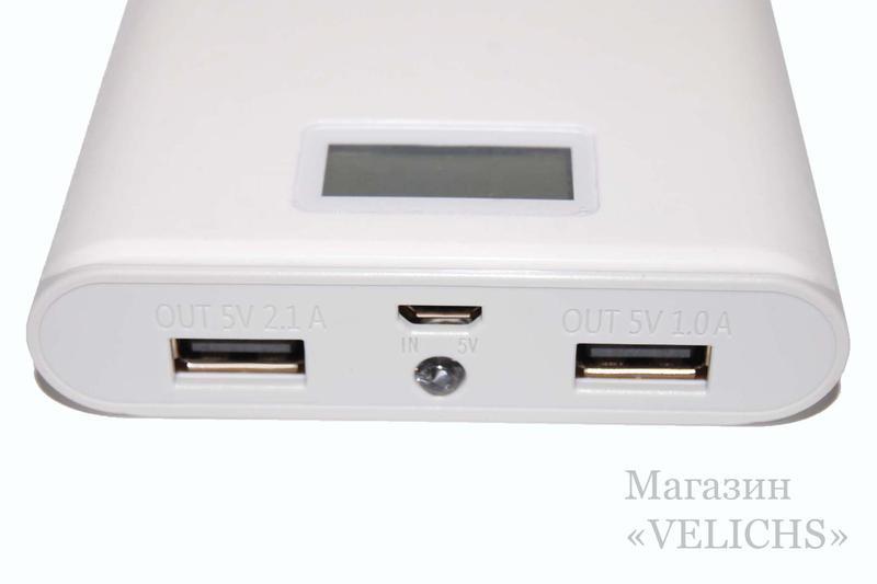 Внешний аккумулятор Power bank PINENG-920 40000 мАч - Фото 5