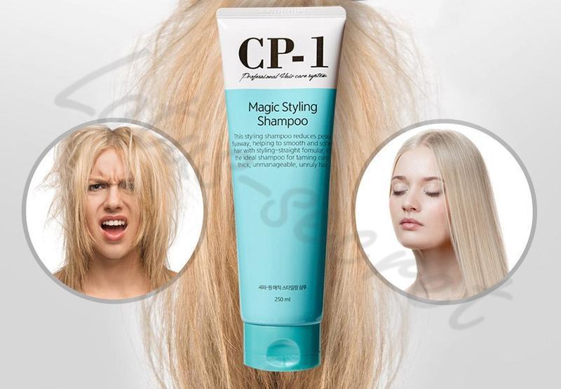 Шампунь для непослушных и вьющихся волос esthetic house cp-1 m... - Фото 3