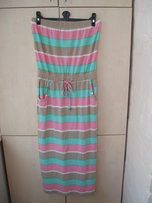 Платье-сарафан трикотаж