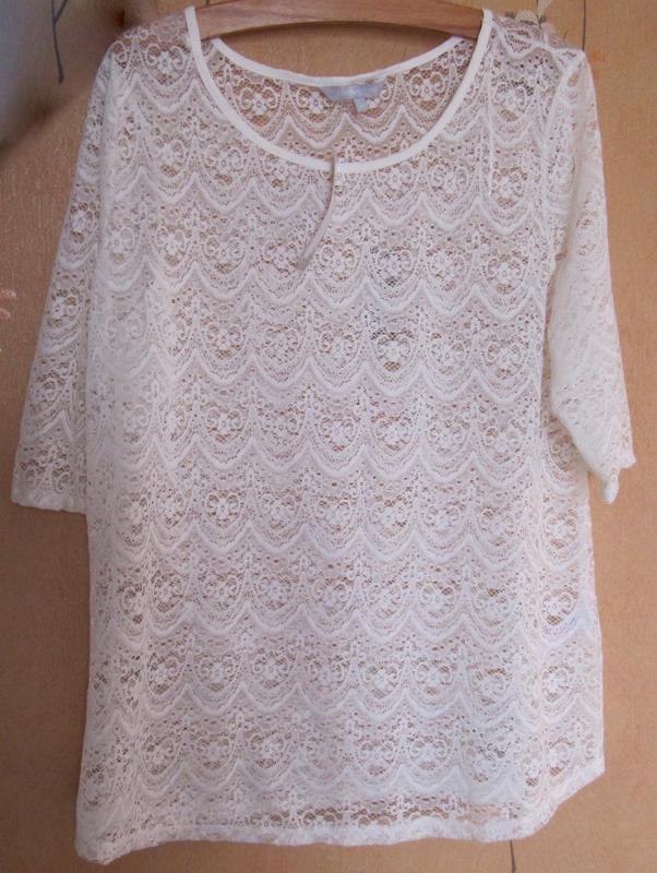 Блуза ажурная redherring новая (18)