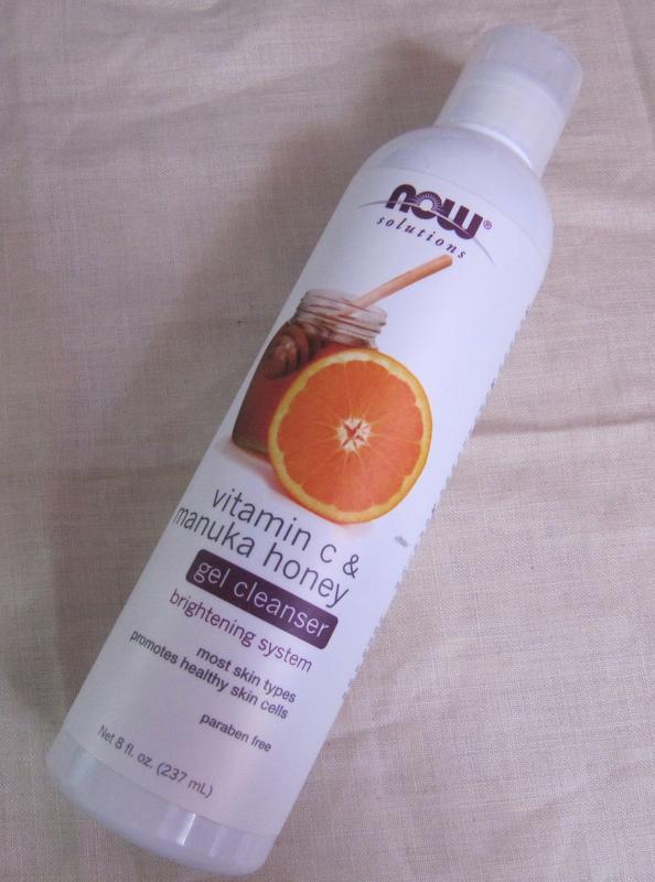 Очищающий гель для лица с манука медом и вит с now foods
