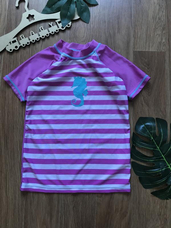Крутая футболка купальник купальный костюм 4-5 лет