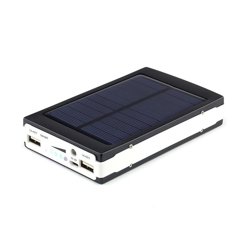 Power bank / зярядка от солнца+фонарик, внешний аккумулятор - Фото 4
