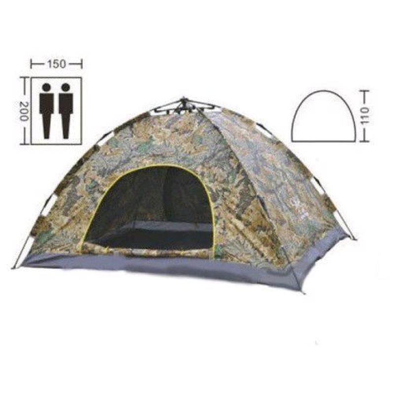 Самораскладывающаяся Палатка автомат 2-х местная - Фото 3
