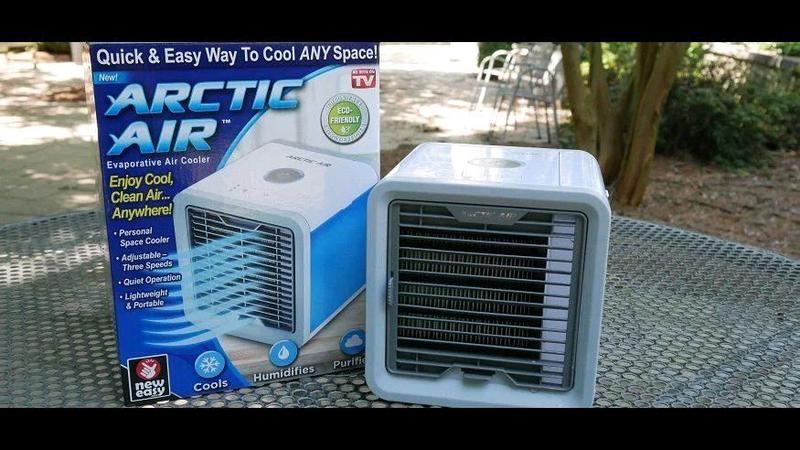 Распродажа Кондиционер ARCTIC AIR охладитель очиститель вентилят - Фото 4