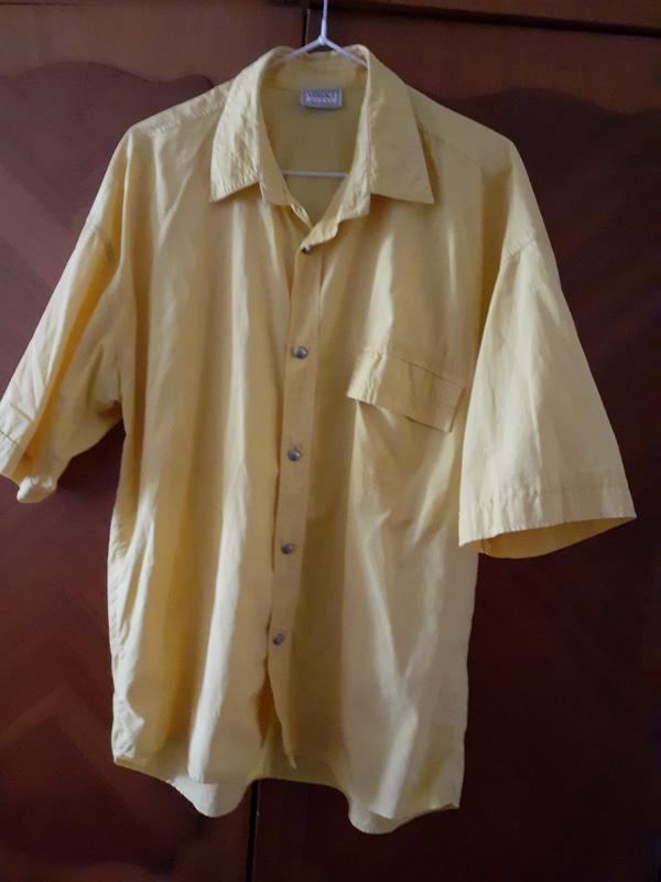 Фирменная рубашка, большого размера