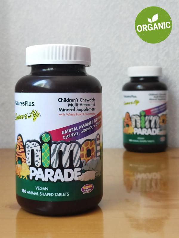 Витамины для детей, Animal Parade, 180 шт