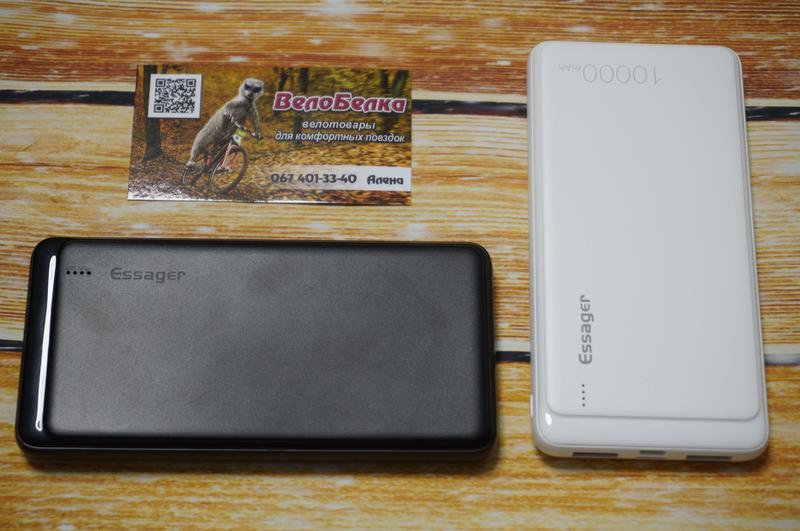 Внешний аккумулятор Essager 10000 мАч, повербанк, зарядное устрой