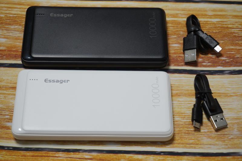 Внешний аккумулятор Essager 10000 мАч, повербанк, зарядное устрой - Фото 2