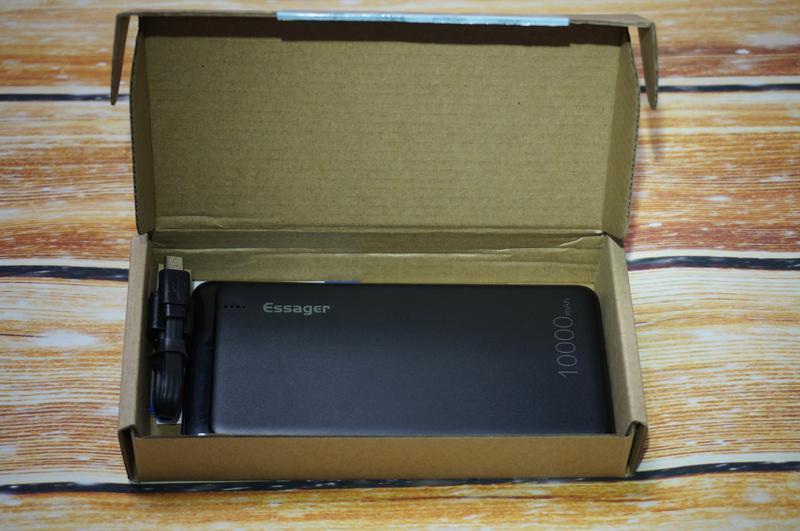 Внешний аккумулятор Essager 10000 мАч, повербанк, зарядное устрой - Фото 7