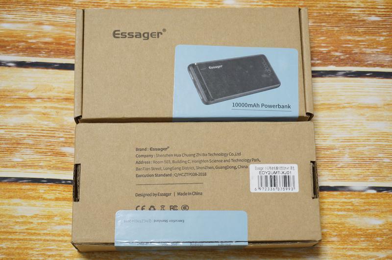 Внешний аккумулятор Essager 10000 мАч, повербанк, зарядное устрой - Фото 8