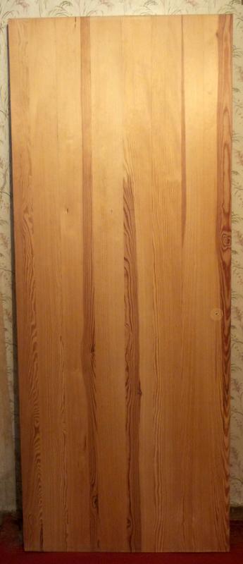 Сосновое полотно/деревянная дверь/полотно из сосны/сосновая дверь - Фото 2