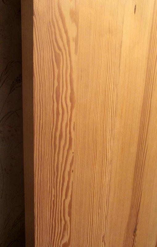 Сосновое полотно/деревянная дверь/полотно из сосны/сосновая дверь - Фото 3