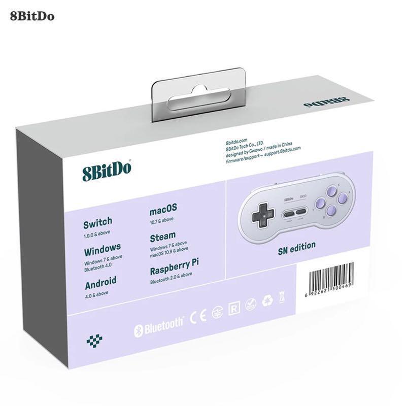 Беспроводной Bluetooth геймпад 8bitdo SN30 джойстик. Оригинал - Фото 4