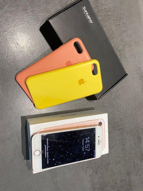 Iphone 7 32gb rose gold идеал - Фото 4