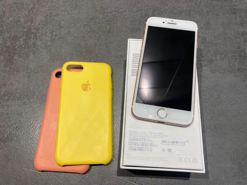 Iphone 7 32gb rose gold идеал