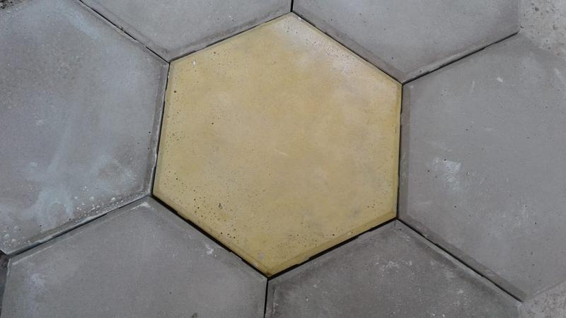 Плитка цементная