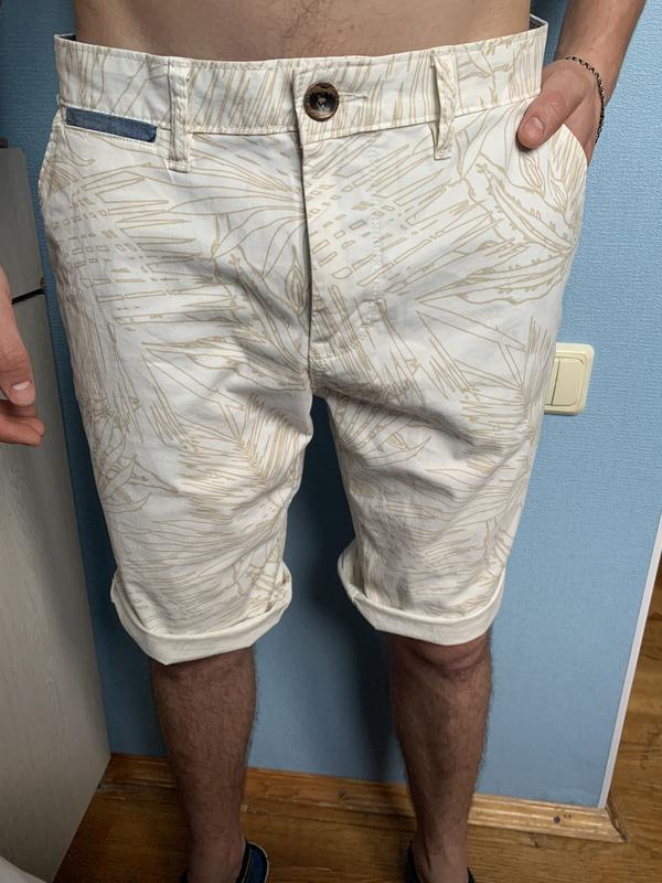Стильные мужские котоновые шорты 33 р том тейлор