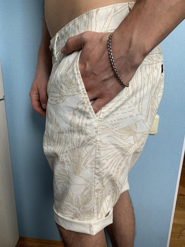 Стильные мужские котоновые шорты 33 р том тейлор - Фото 3