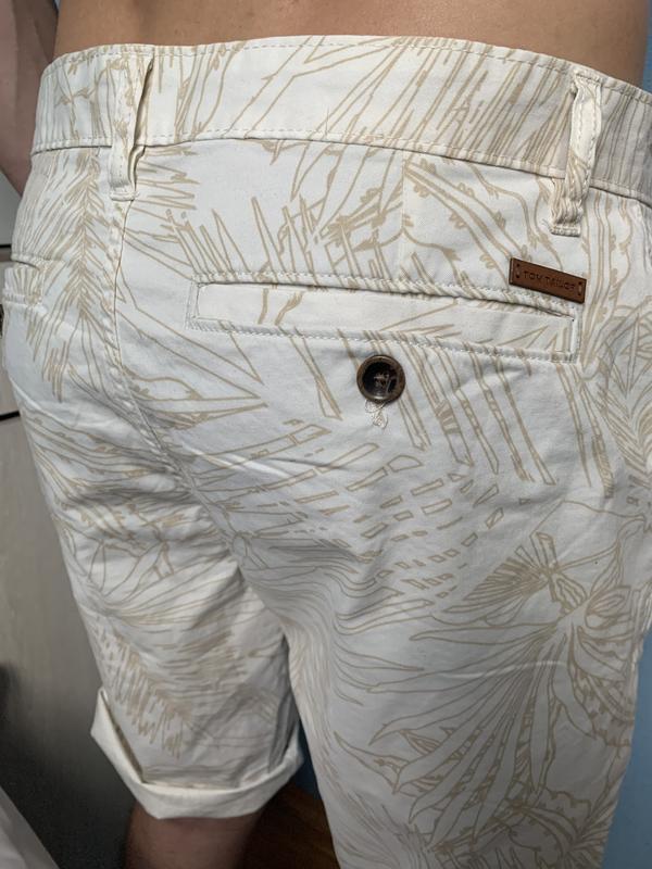Стильные мужские котоновые шорты 33 р том тейлор - Фото 5