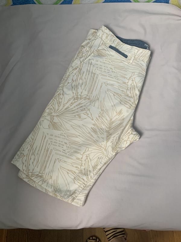 Стильные мужские котоновые шорты 33 р том тейлор - Фото 7
