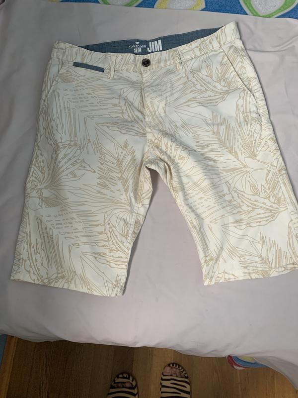 Стильные мужские котоновые шорты 33 р том тейлор - Фото 8