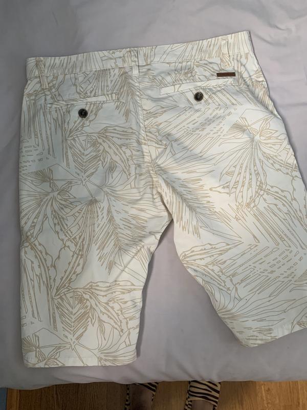 Стильные мужские котоновые шорты 33 р том тейлор - Фото 9