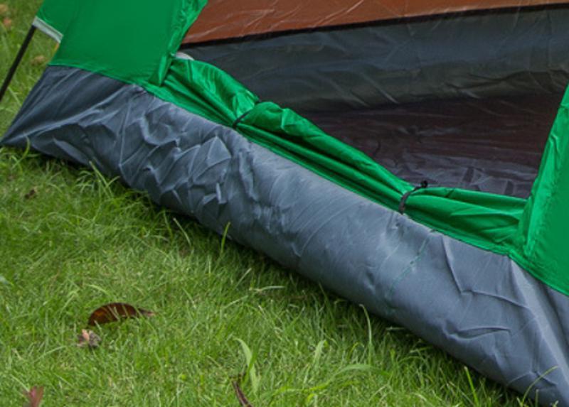 Палатка-автомат 2-х местная с автоматическим каркасом Leomax (2*1 - Фото 4