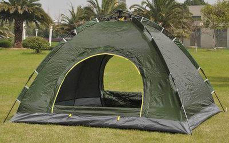 Палатка-автомат 2-х местная с автоматическим каркасом Leomax (2*1